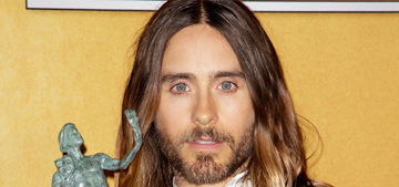 Us Weekly: Jared Leto & Miley Cyrus are 'hooking up' & talk 'art & music'
