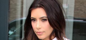 Radar: Kim Kardashian's had nose work, she's a 'plastic surgery enthusiast'