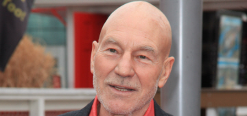 Patrick Stewart reaction to being 'outed' by The Guardian is rather priceless