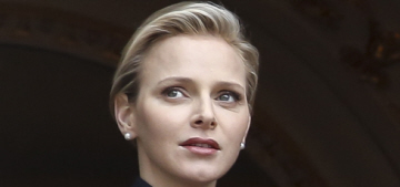 Did Princess Charlene get frisky with an older man in St. Barth during the Olympics?