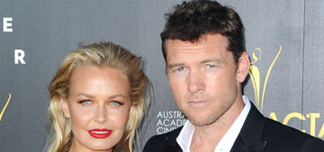 Sam Worthington is married; video shows his wife going after paparazzo first