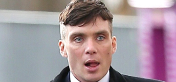 Cillian Murphy shows off his 'Peaky Blinders' haircut: would you hit it?