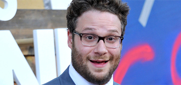 Seth Rogen calls out senators for walking out on his Alzheimer's speech