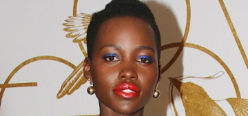 """Lupita Nyong'o somehow made a Stella McCartney dress look good"" links"