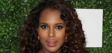 Kerry Washington vs. Lupita Nyong'o: who looked cuter at the Essence luncheon?