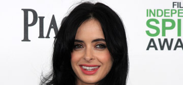 Krysten Ritter in Versace at the Spirit Awards: sexy or try-hard?