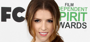 Anna Kendrick in Dior at the Spirit Awards: perfect or too precious?