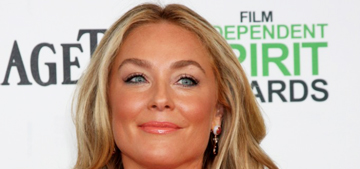 Elisabeth Rohm in Maria Lucia Hohan at the Spirit Awards: pretty or too orange?