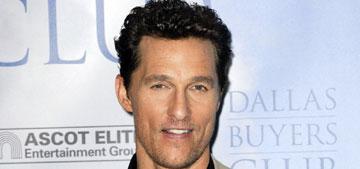 Oscars 2014: Matthew McConaughey wins best actor for 'Dallas Buyer's Club'