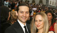 Tobey Maguire was shuffled around to different family members as a child