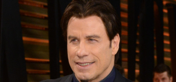 """John Travolta's official Oscar wiglet was a thing of beauty"" links"