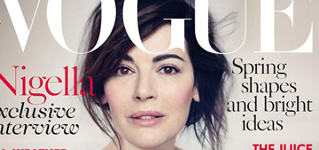 Nigella Lawson covers Vogue UK for a 'fresh start': lovely or too airbrushed?