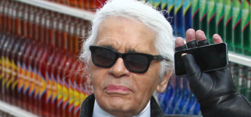 Karl Lagerfeld lost his mind, brought 'People of Walmart' chic to Paris Chanel show