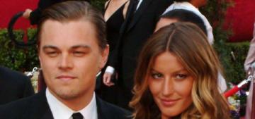 Leonardo DiCaprio ran into Gisele Bundchen at Madonna's Oscar party