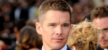 Ethan Hawke's wife worries that Ethan will bang his new costar, January Jones