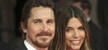 Christian Bale & Sibi, his wife of 14 years, are expecting their second child
