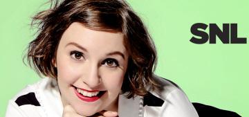 """Lena Dunham's 'Saturday Night Live' was pretty good, surprisingly"" links"