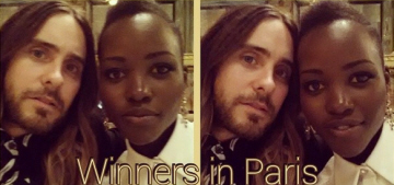 Lupita Nyong'o posts cute selfies with Jared Leto: are they together or what?