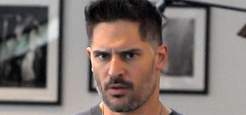 Joe Manganiello goes shopping with a grumpy face: would you hit it?