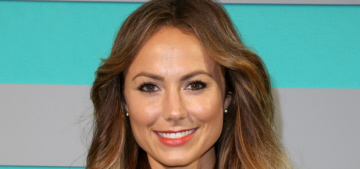 Stacy Keibler's Mexican elopement was really a shotgun wedding: she's pregnant!