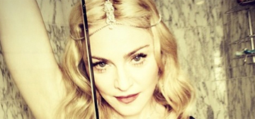 Madonna posts pic of herself 'cleaning' the shower with her tongue: gross?