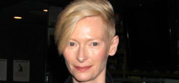 Tilda Swinton in Haider Ackermann at 'OLLA' screening: lovely or unflattering?