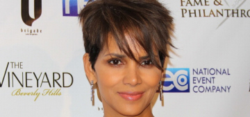 Halle Berry works while Olivier Martinez goes solo with his wedding ring