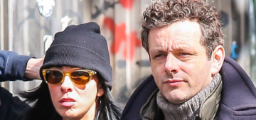 Michael Sheen & Sarah Silverman are definitely together: still random or cute?