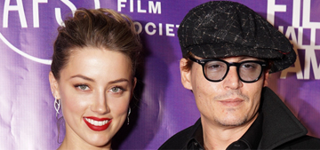 Johnny Depp & Amber Heard threw a celeb-filled, 'intimate' engagement party