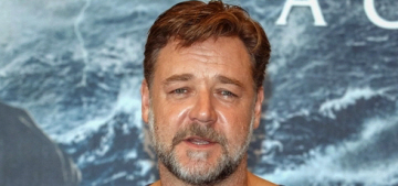 Russell Crowe wanted a papal blessing for 'Noah' but Pope Francis blew him off