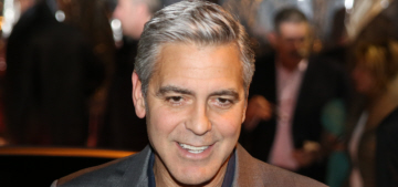 George Clooney took his official girlfriend Amal Alamuddin on an African safari