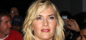 Kate Winslet in red SAFiYAA at the 'Divergent' premiere: flattering or fug?