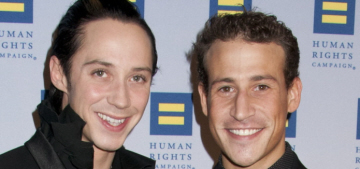 Johnny Weir & his husband Victor Voronov have split after more than 2 years