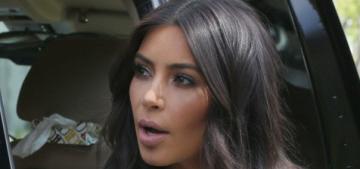 Kim Kardashian does a victory lap at Ciara's baby shower: smug or depressed?