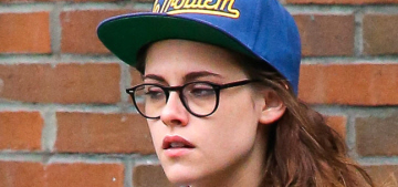 Kristen Stewart is not pregnant, she gained weight on purpose for her new film