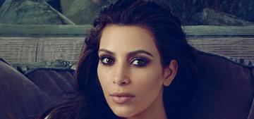 Vogue releases two more Kim Kardashian photos, part of the crazy Kimye interview