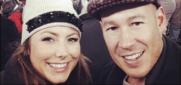 Stacy Keibler officially confirms her pregnancy with new husband Jared Pobre