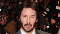 Bearded Keanu Reeves has large Jesus tattoo for new film
