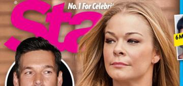 Star: LeAnn Rimes is 'broke & alone,' Eddie 'isn't pulling his weight financially'