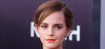Emma Watson in Oscar de la Renta at the 'Noah' premiere: lovely or too mature?