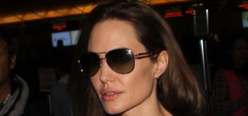 Angelina Jolie traveled to London, Sarajevo with her new boyfriend William Hague
