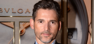 Eric Bana promotes his new Bvlgari contract in Switzerland: would you hit it?