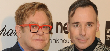 Elton John & David Furnish, civil partners for 8 years, plan to marry in England