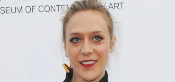 Chloe Sevigny in Louis Vuitton at the LA MOCA event: inappropriate or cute?