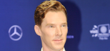 Benedict Cumberbatch kept his phone on in Malaysia just in case his mum called