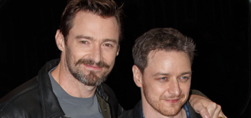 Hugh Jackman & James McAvoy promote X-Men in London: who would you rather?