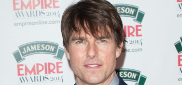 """Tom Cruise came out of hiding for the Jameson Empire Awards"" links"