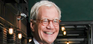 David Letterman announced his retirement on last night's 'Late Show' episode