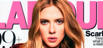 Scarlett Johansson: the 'ScarJo' nickname is 'tacky, lazy, flippant & insulting'