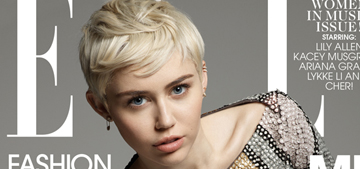 Miley Cyrus: 'I hope I'm part of the evolution of feminism'